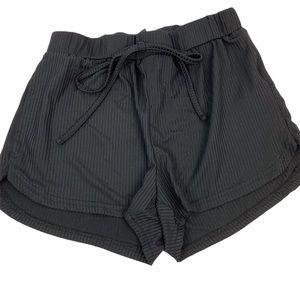 SHEIN Black Shorts Elastic Waist XS